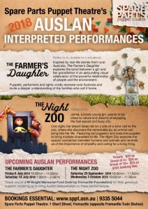 Auslan performances Flyer
