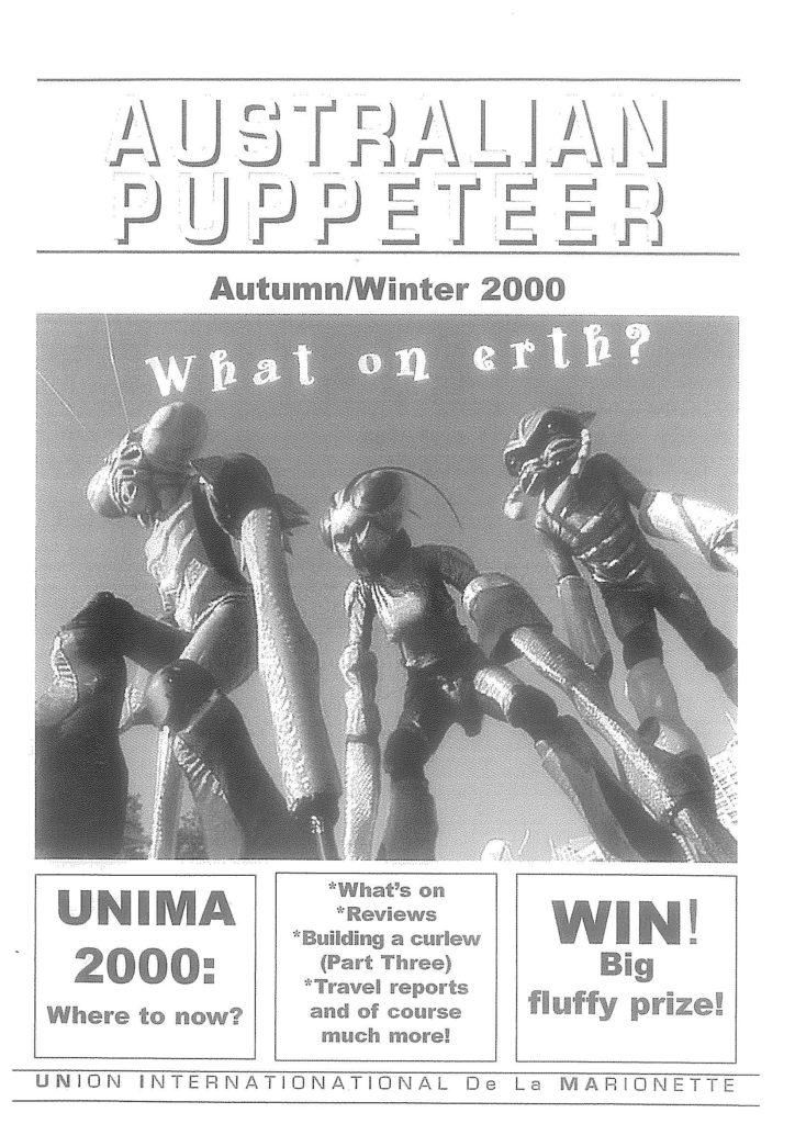 Cover of Autumn Winter 2000 Magazine
