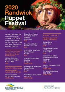 Festival program of events